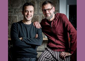 Giovanni Guidi e Fabrizio Bosso