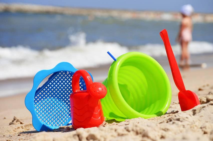 Immagine di giochi sulla spiaggia