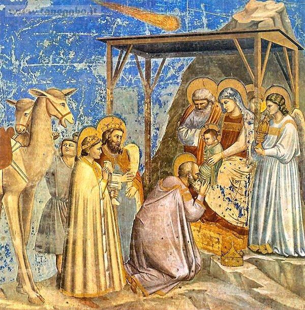 Giotto, Adorazione dei magi, Cappella degli Scrovegni, Padova