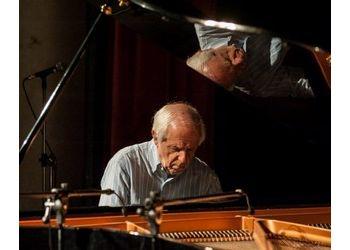 Franco D'Andrea al pianoforte