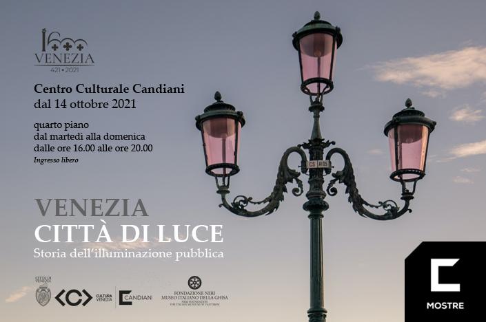"""Immagine mostra """"Venezia città di luce"""""""