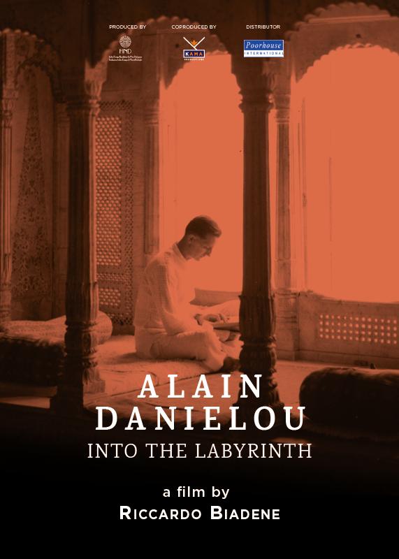 Locandina Alain Danielou il labirinto di una vita