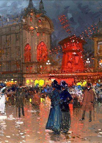 Parigi Henri De Toulouse Lautrec