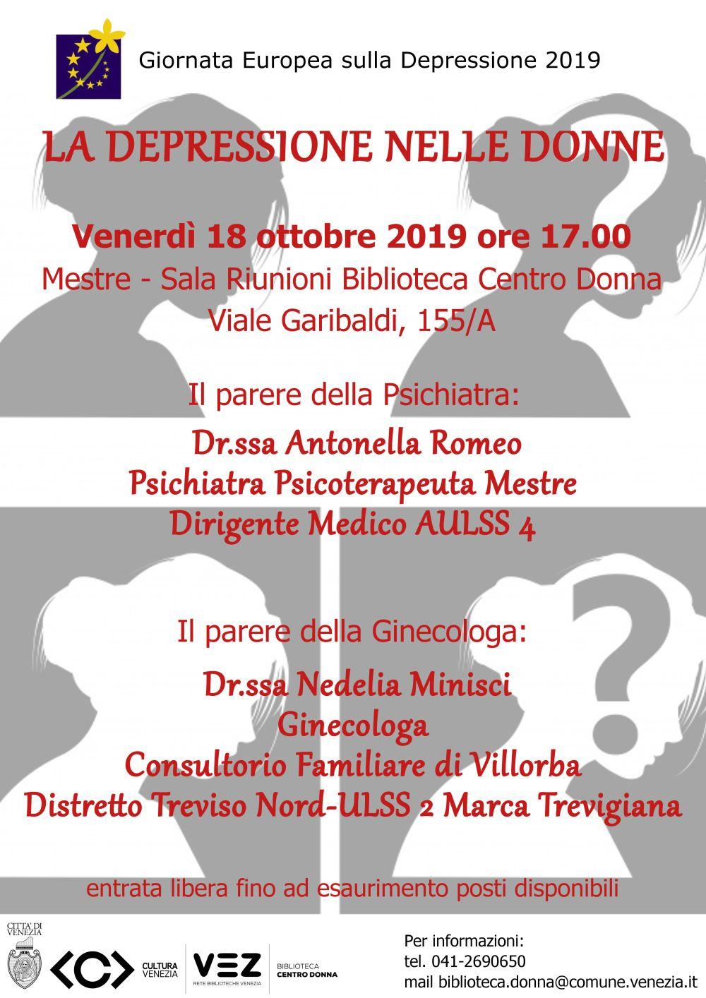 Locandina Incontro Romeo - depression 2019