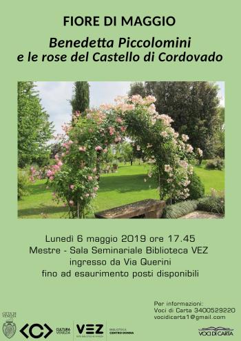 Locandina Fiore di Maggio - Castello di Cordovado