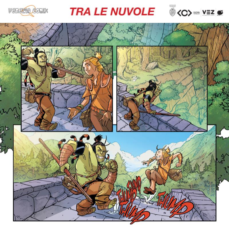 Laboratorio di Fumetto con Diego Bonesso in Bettini Junior