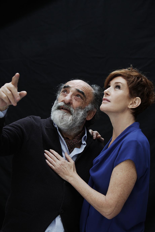 Alessandro Haber e Lucrezia Lante Della Rovere ©fabiolovino