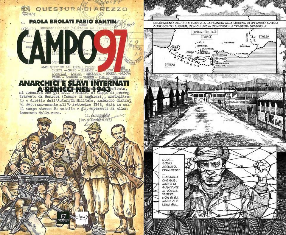 immagine di copertina del libro Campo 97