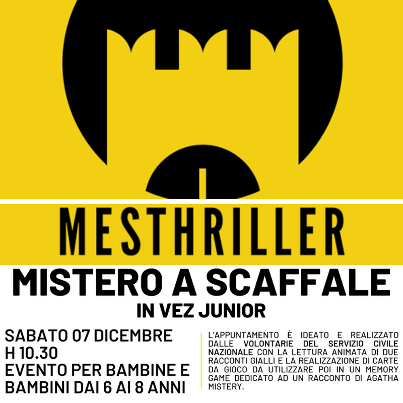 Mistero a scaffale. Mesthriller