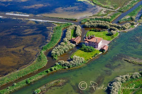 valli da pesca in laguna di Venezia
