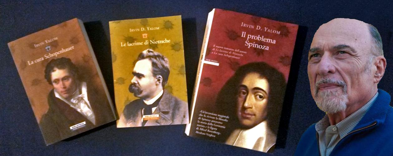 copertine tre libri di Yalom