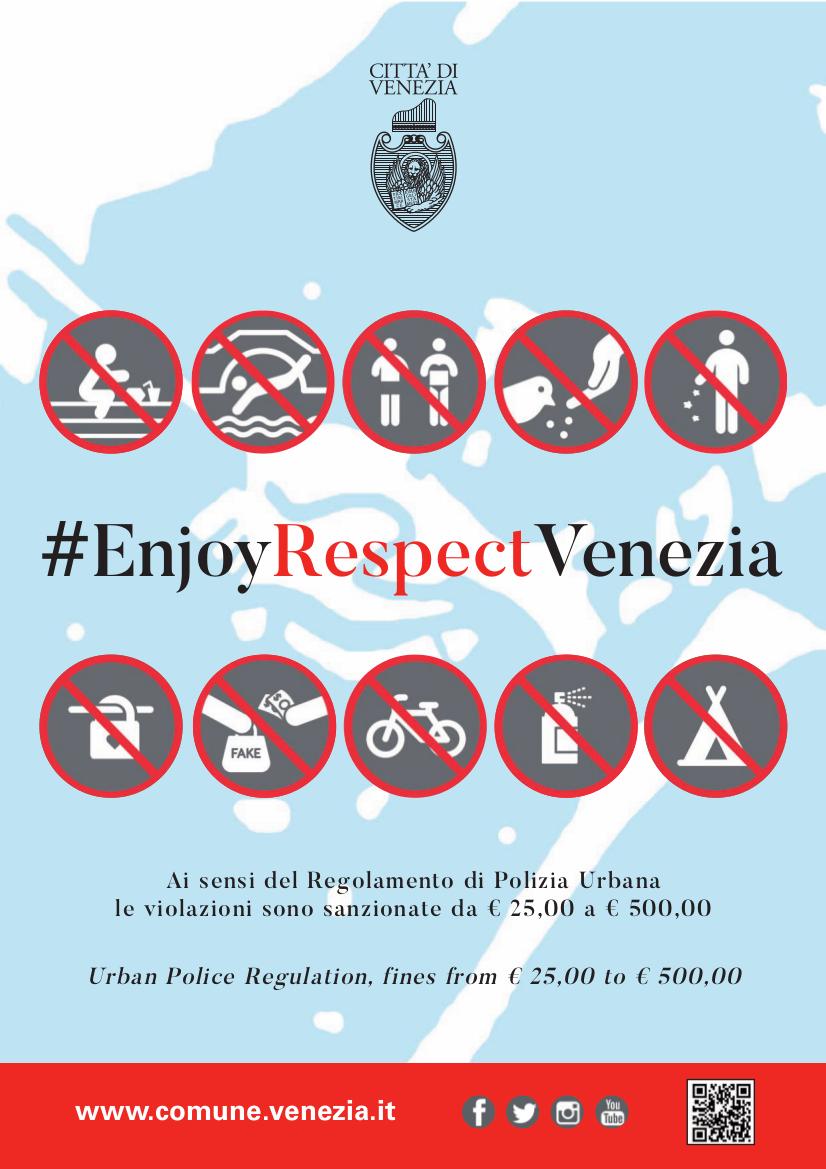 Was in Venedig verboten ist | Comune di Venezia