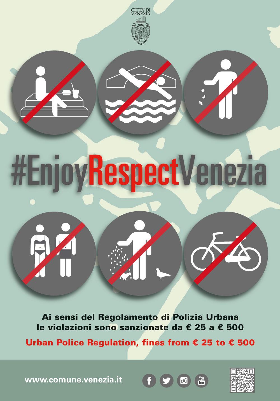 Forbidden behaviour | Comune di Venezia