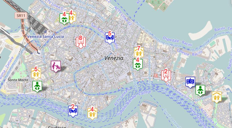 Portale informativo sulle scuole veneziane