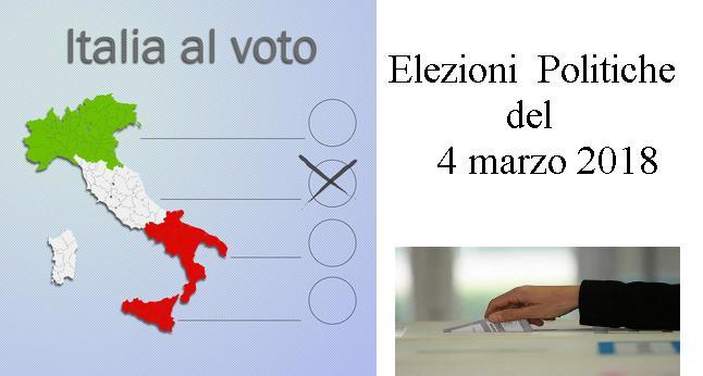 Elezioni politiche - 4 marzo 2018