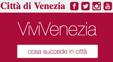 """Iscriviti a """"ViviVenezia"""", la nuova newsletter del Comune di Venezia"""