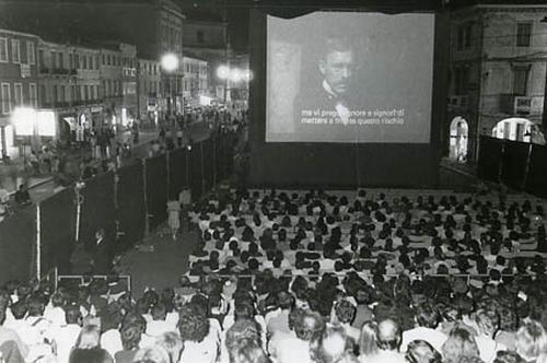 Piazza Ferretto, Mestre, settembre 1982.