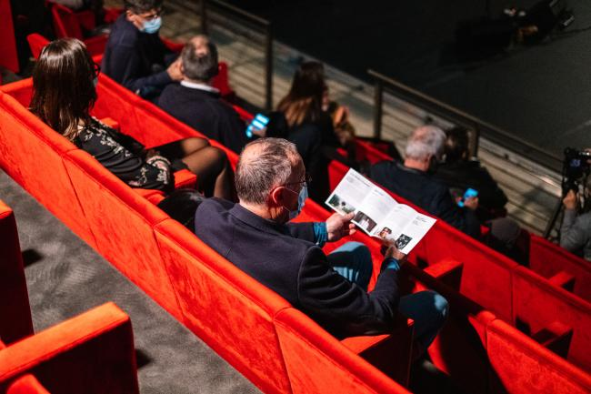 Nell'auditorium - foto di Alvise Busetto©