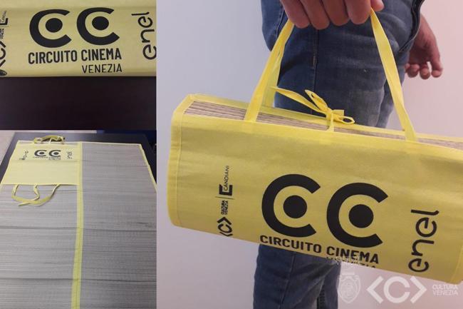 Le stuoie di Circuito Cinema al Parco San Giuliano
