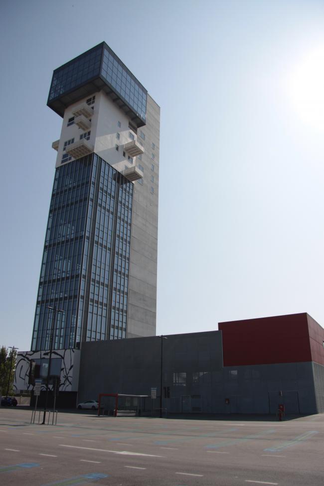 Hybrid Tower Mestre, esterno