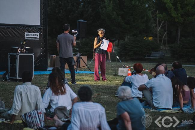 Parco San Giuliano, Porta Rossa, Maria Chiara Tosi docente di Urbanistica, Dipartimento Culture del Progetto, Università IUAV di Venezia, 10 luglio
