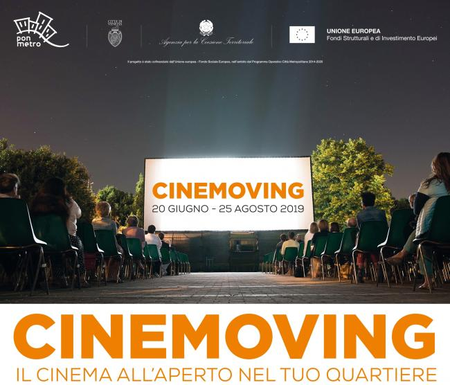 La locandina _Cinemoving